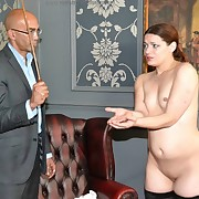 Awesome dame gets their way nates lathered