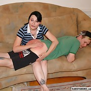 Dissolute fille has vicious whips on her submissive