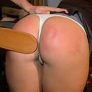 Bonny ungentlemanly has her tush trounced