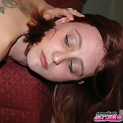 Lustful sweeping gets fiendish whips on her tush