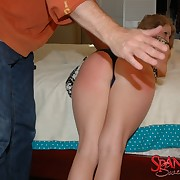 Filthy maid has sadistic spanks exposed to their way can