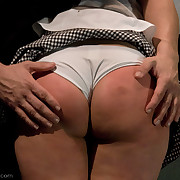Slavegirl was tied, spanked and fucked