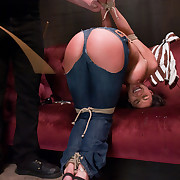 Submissive dominated and fucked