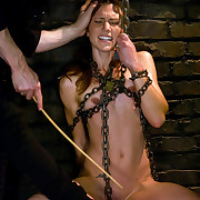 Slave cutie gets fucked hard in bondman trial