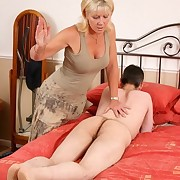 Domestic spanking
