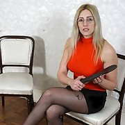Housewife spanking