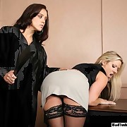 Woman in court spanked by the judge