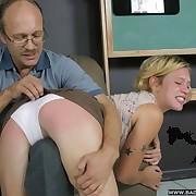Otk spanked blonde