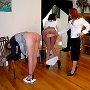 Paddling and caning of two young women