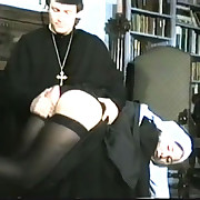 Bad nun gets punished hard