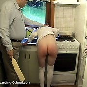 Daily Life at beauties Boarding School - Domestic Discipline for Simone