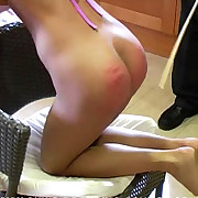 Bad sexy chick was punished hard