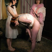 Two sluts brutally caned