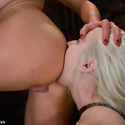 Ashley Jane licks ass and gets screwed in the butt by Lorelei