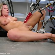 From the Archives - the incredible,Harmony Rose who squirts, does a machine double vag and copulates king pecker - the rod dreams are scared of.