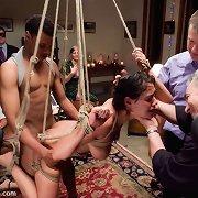 Lady experienced in bondage