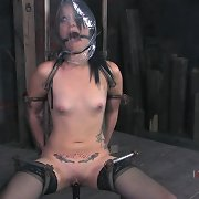 Slavegirl was bound