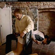 Girl punished in dungeon