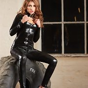 Jenny black catsuit