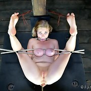 Slave Penny wants to be in rough bondage