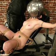 Slave with fixed mouth
