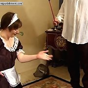 Hotel female house slave acquires brutally punished