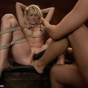 Fresh hot twenty year old gets a perverted new experience.