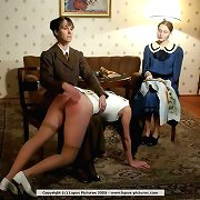 Spanking and humiliation of bad teen girl