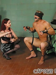 The male partient was tormented and smothered
