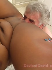 The chubby ebony mistress smothered a malesub