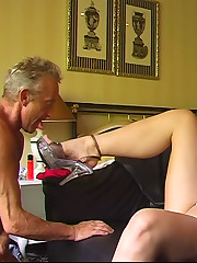 Foot and ass licking with nasty Ashley