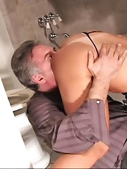 A slave is happy to lick mistress pussy