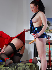 Red hot sissy training