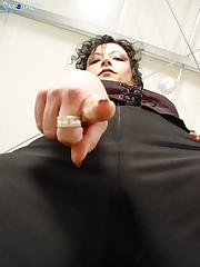 Worm! Worship my big ass!