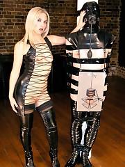 Open Rubber Dress