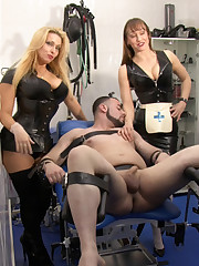 UK Mistresses tormented an malesub