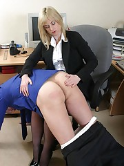 Lady boss punished man
