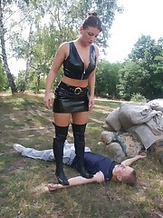 Outdoor trampling