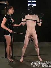Obedient slave abused