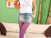 Lexi Lowe in a cute white top