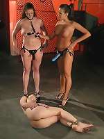 Nika Noire, Dylan Ryan, Sabrina Fox - Lesbian slave abused