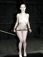 Slave Iona Grace earns her place in Master's barn stayning in cold