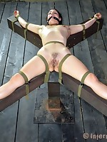 Slave Zayda J knows about today's tortures looking to master's implements