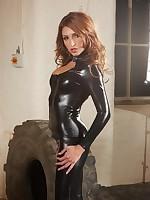 Jenny black catsuit