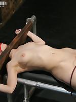 Girl-on-girl bondage and torment