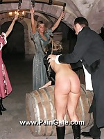 Punishment of tight aggravation blonde