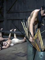 Slave Nyssa Nevers got pain a lot