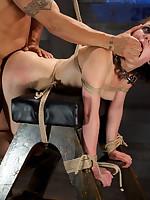 A sex crazed masochistic slaveslut getting sadistic fucking