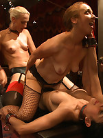 Dannika made air tight by slaves at dinner party.