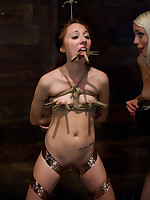 Intense girl-on-girl bondage and sexual torment